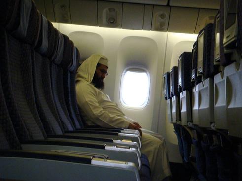 saudi on plane