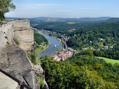 saxon switzerland landscape