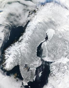 scandinavia norway winter