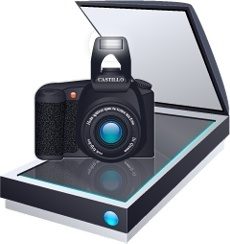 Scaner and camera
