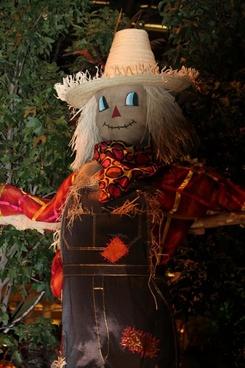 scarecrow october halloween