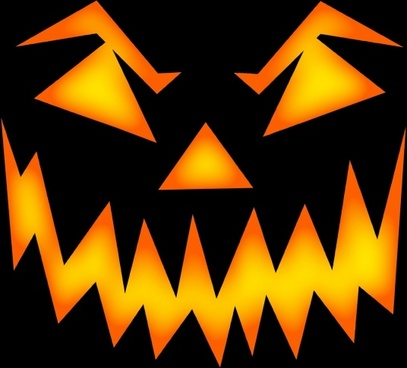 scary halloween face