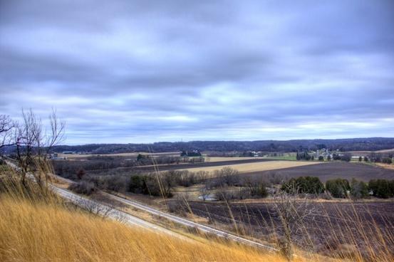 scenic highway overlook from black earth wisconsin
