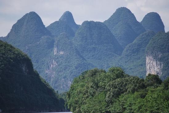 scenic mountain tops