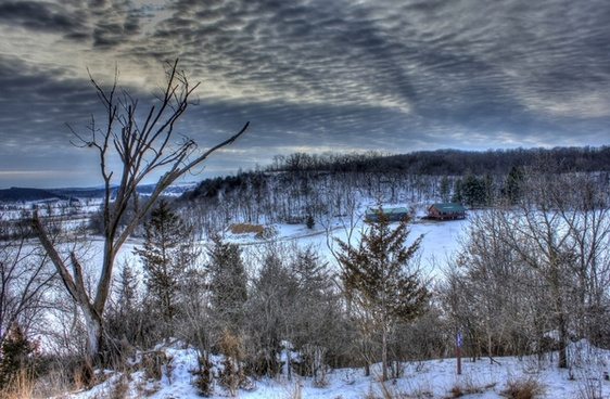 scenic overlook on the ice age trail wisconsin