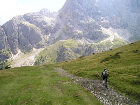 schlern mountain bike tour