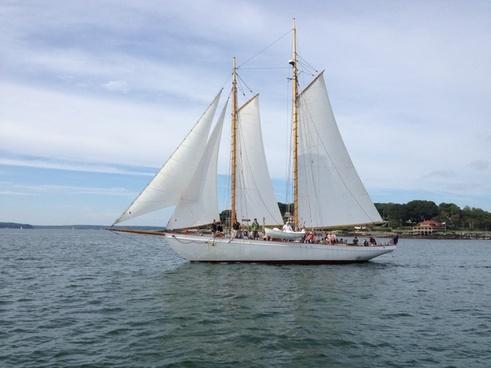 schooner maine boat