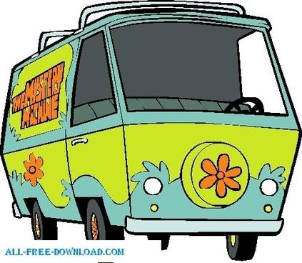 Scooby Doo Mysterymachine 001