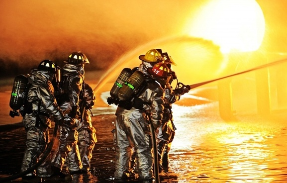 scott afb missouri firemen