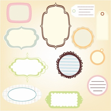 scrapbook labels