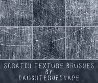 Scratch Texture Brushes