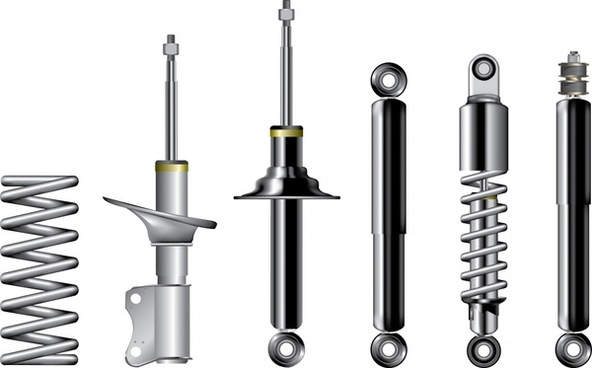screw fittings vector