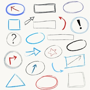 Scribble Design Elements
