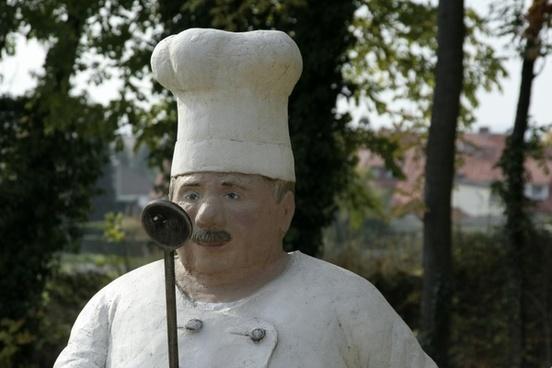 sculpture cooking art