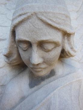 sculpture detail face