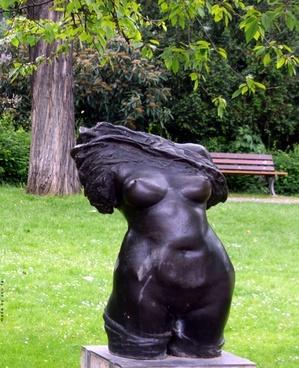 sculpture statue torso