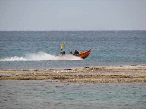 sea boat nature