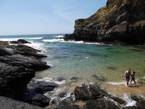 sea coast beach