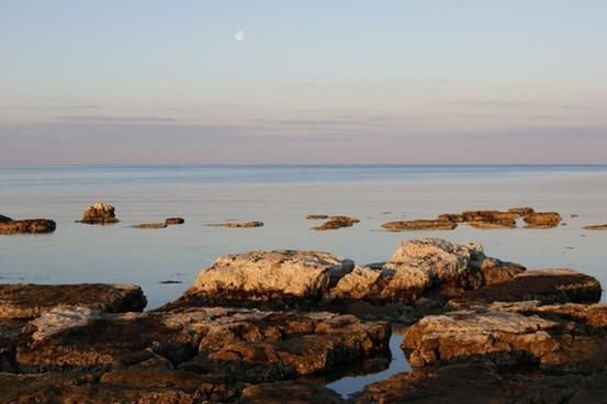 sea coast rock
