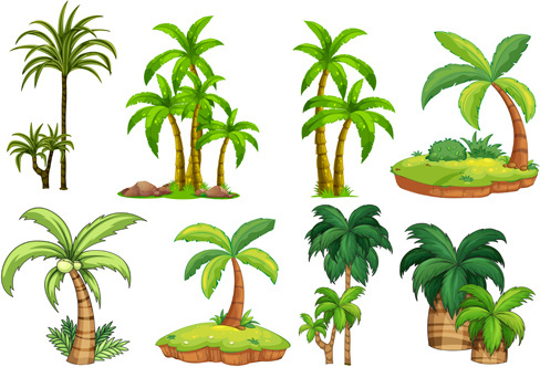 Palm tree free vector download (5,469 Free vector) for commercial