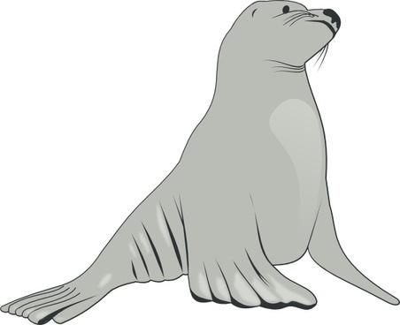 Sea Lion clip art