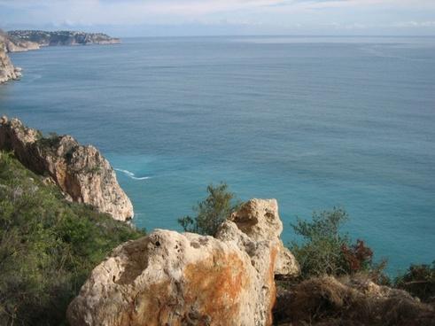 sea rock water