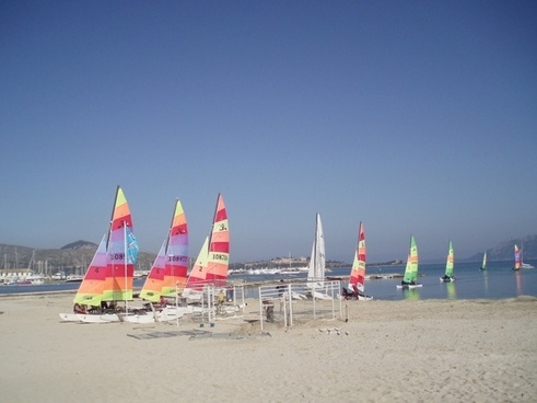 sea sail boats