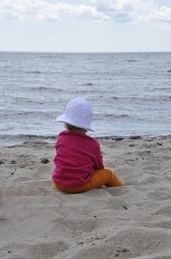 sea sandy beach children