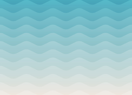 sea waves effect pattern background vector