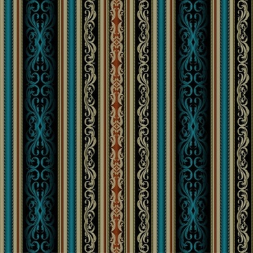 traditional fabric pattern vertical design seamless symmetric decor