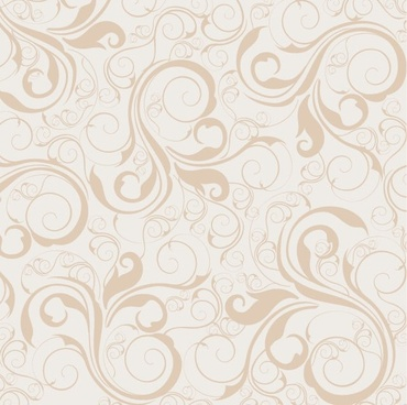 Seamless Floral Pattern Background Vector Graphic