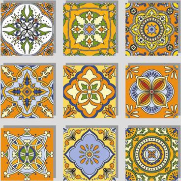 Chevron Patterns Tile Free Vector