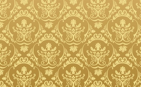 classical pattern background brown flat seamless decoration