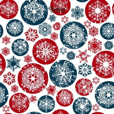 seamless snowflakes background for the christmas event