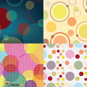 seamless vector circle patterns