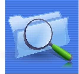 Search Folders Icon clip art