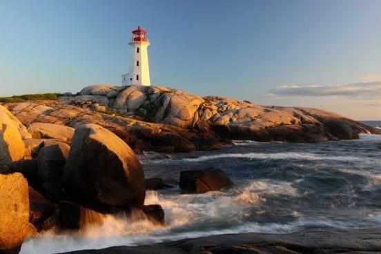 seaside lighthouses hd figure