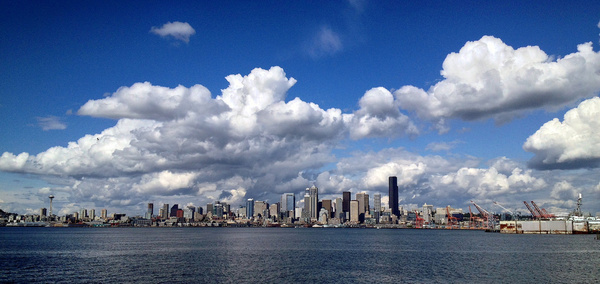 seattle panorama from jack block park june 16 2014