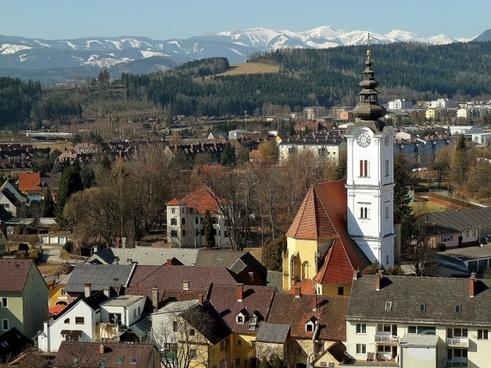 seckau austria buildings