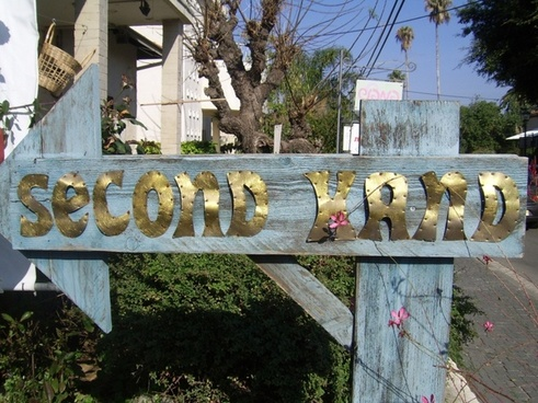 second hand sign