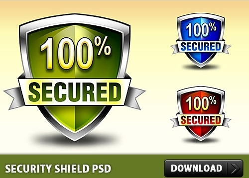 Security Shield Free PSD