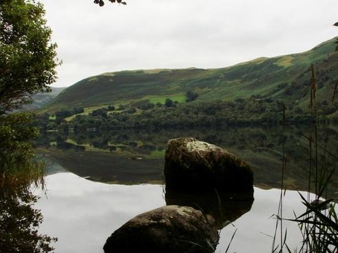 see mirroring landscape