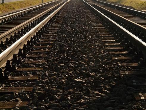 seemed track wooden sleepers