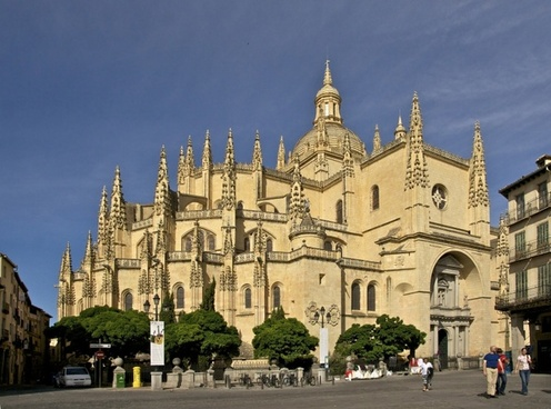 segovia spain cathedral
