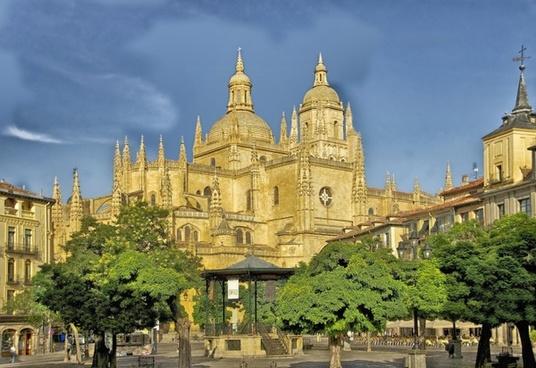 segovia spain cathedral