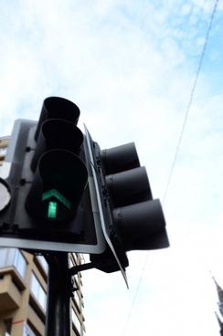 semaphore at the road