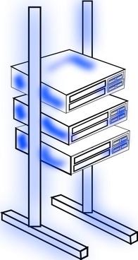 Server S Frame clip art