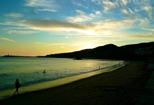 sesimbra sunset