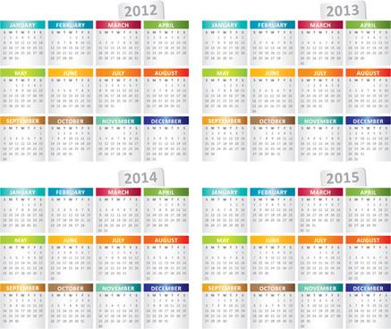 Coreldraw Calendar Template Free Vector Download 17577 Free Vector