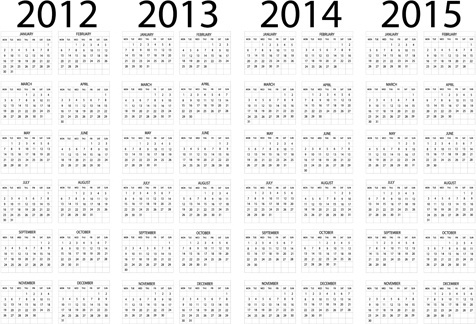 Wall Calendar Template Free Vector Download 17043 Free Vector For